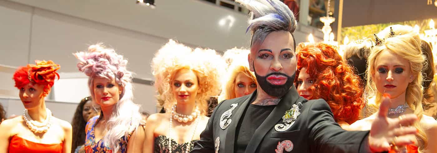 Pompöös Perücken Show Top Hair 2019 - header
